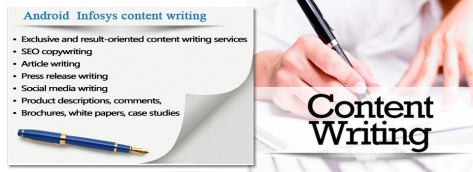 Content Writing at Android Infosystem